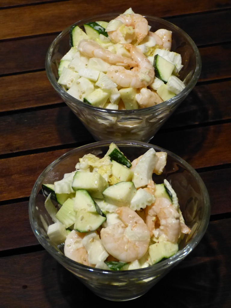 recette salade courgette fenouil