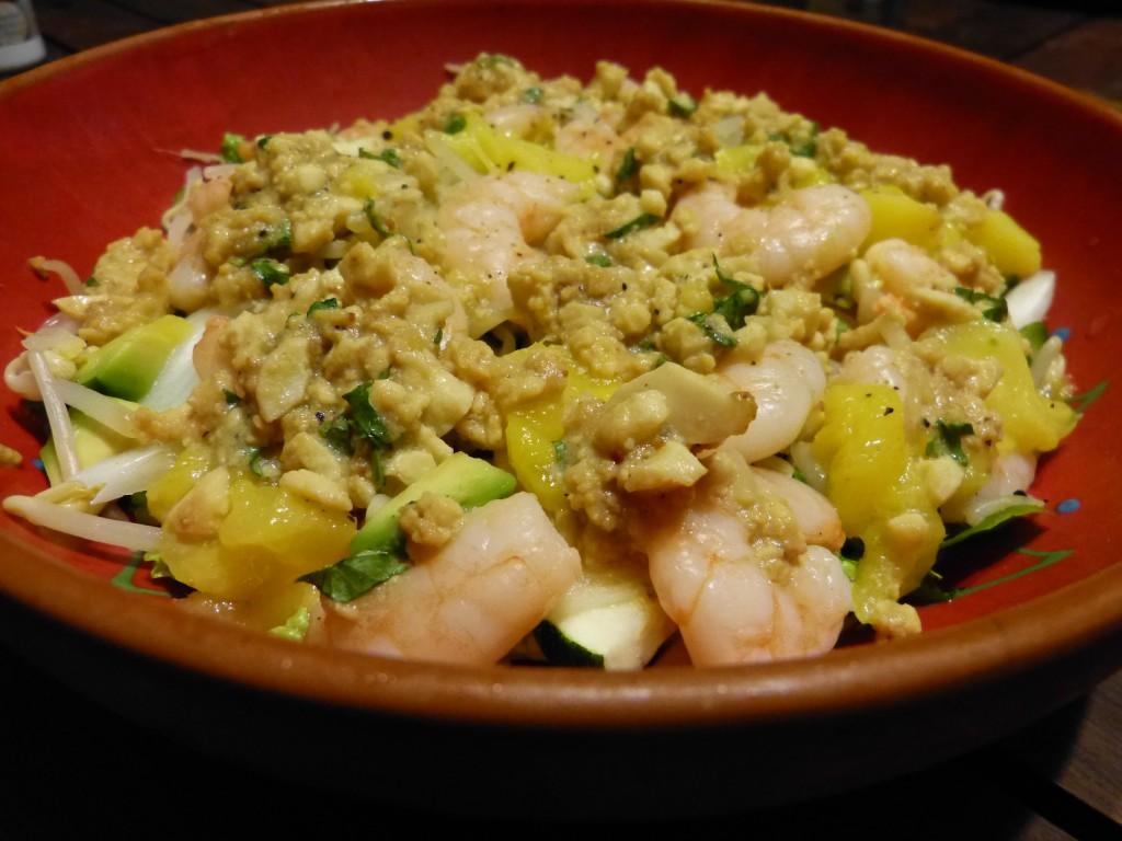 recette-salade-crevettes-avocat-mangue