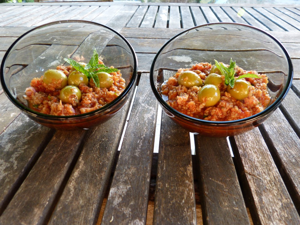 recette salade quinoa tomates olives