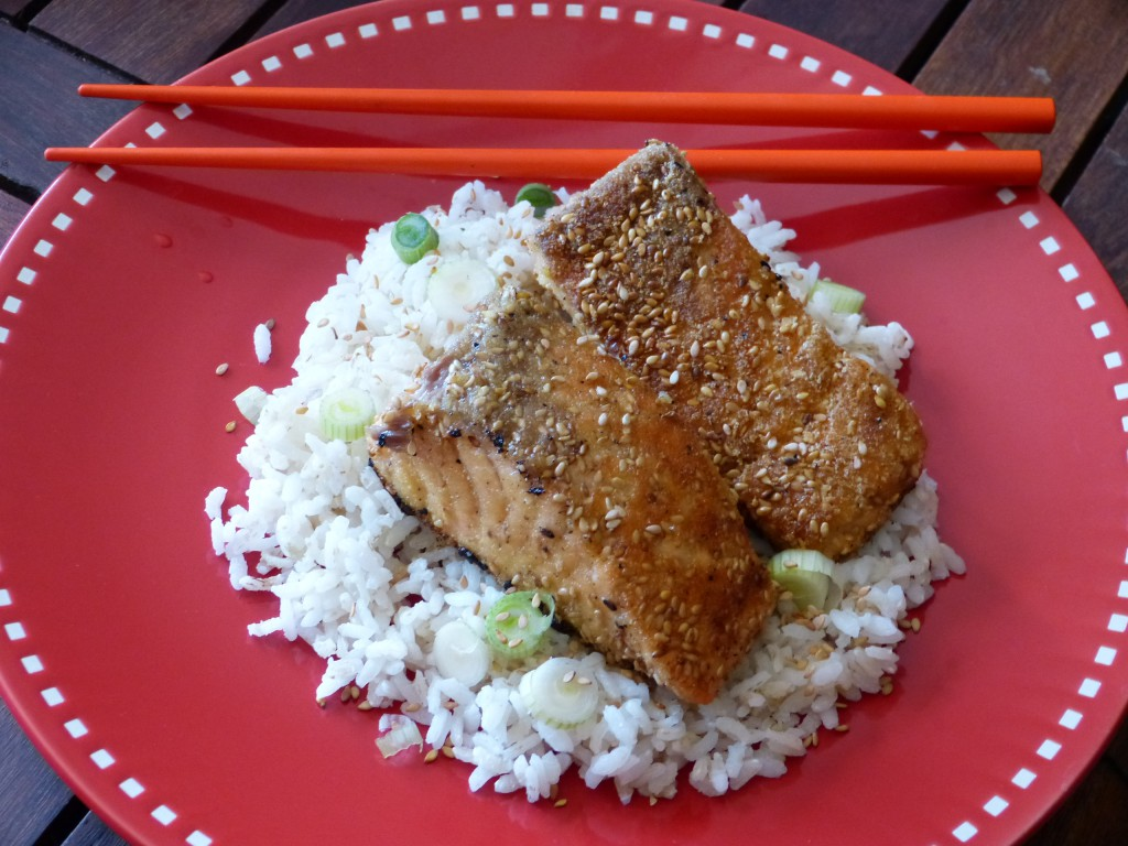 recette saumon sesame