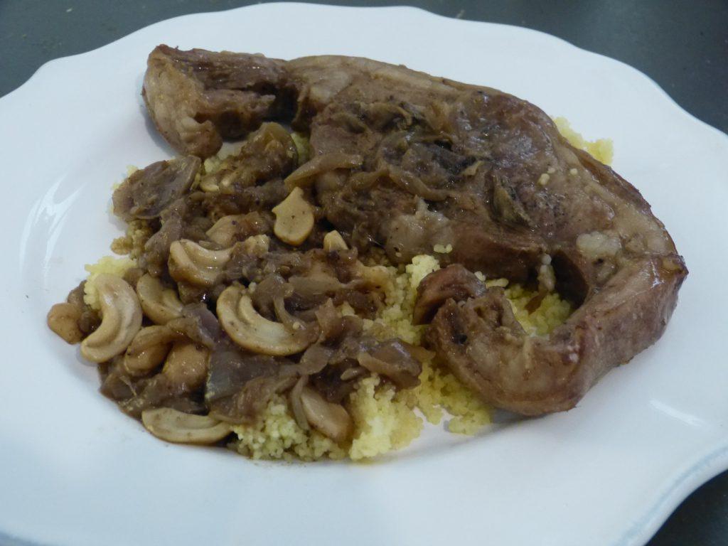 recette tajine agneau noix de cajou