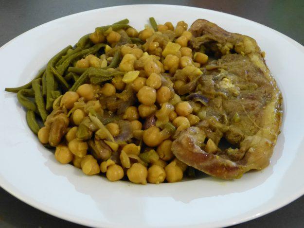 Tajine d'agneau au gingembre, miel et piment