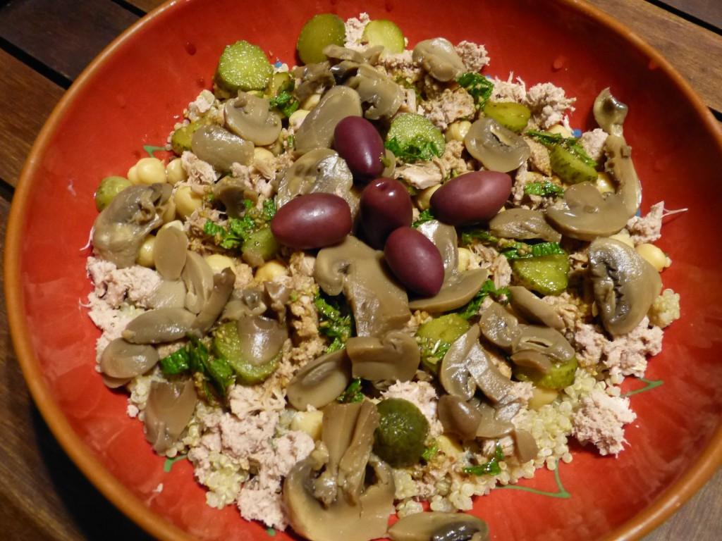 recette thon assiette complete quinoa power bowl