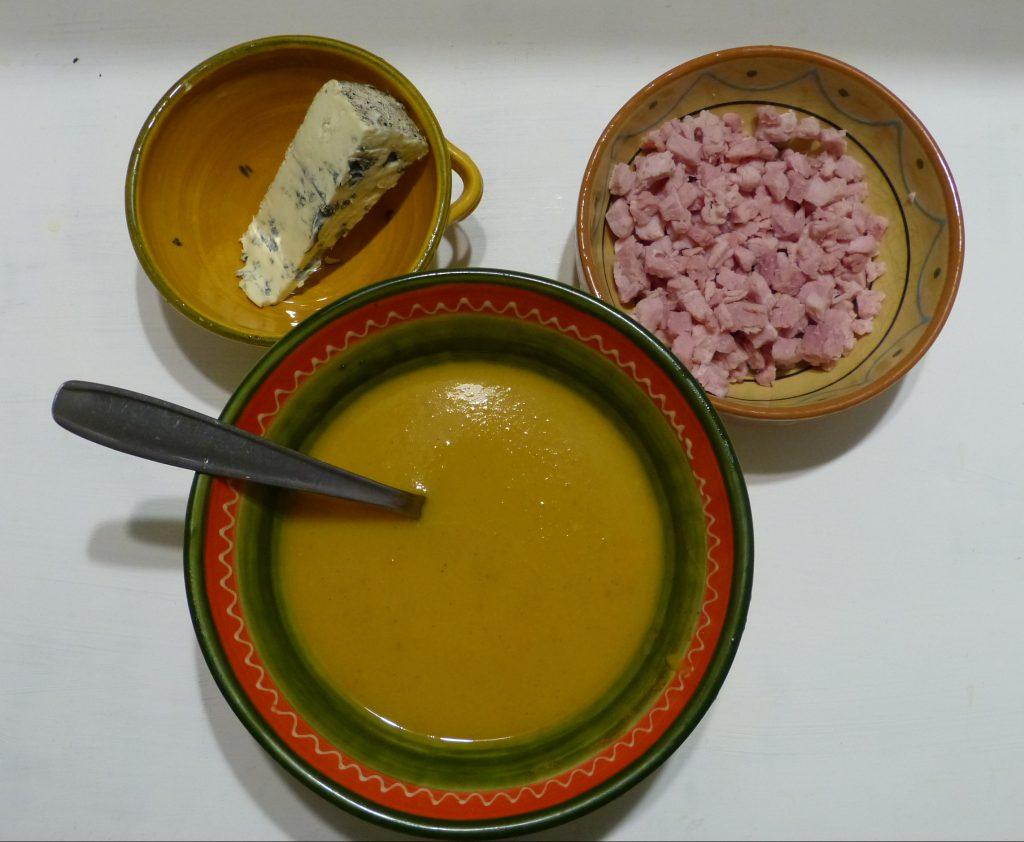 recette veloute butternut soupe