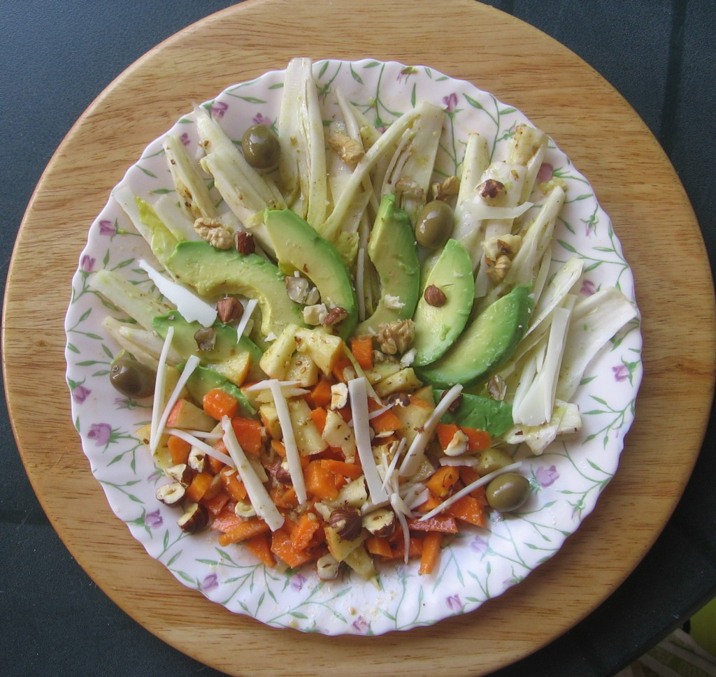 salade recette citrouille