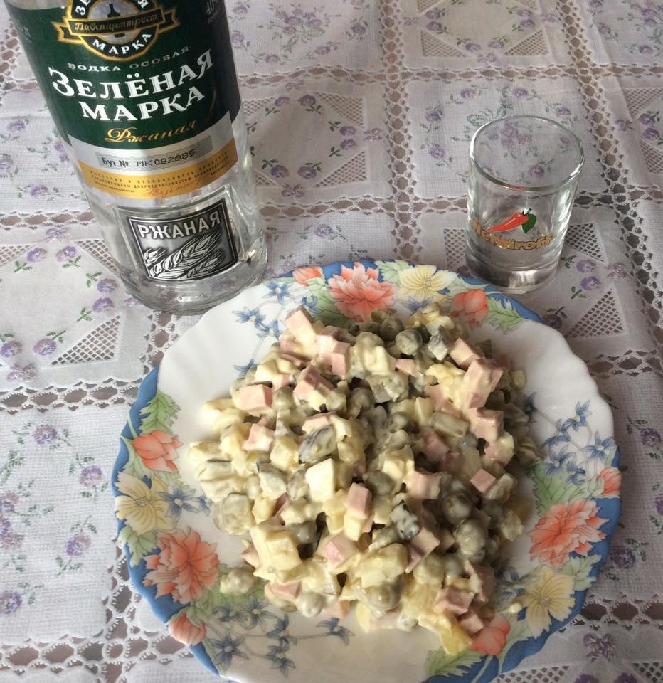 Partez en Russie avec la salade Olivier