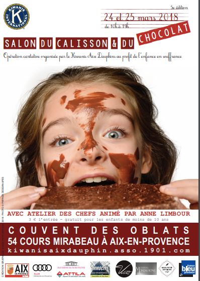salon calisson chocolat aix 2018