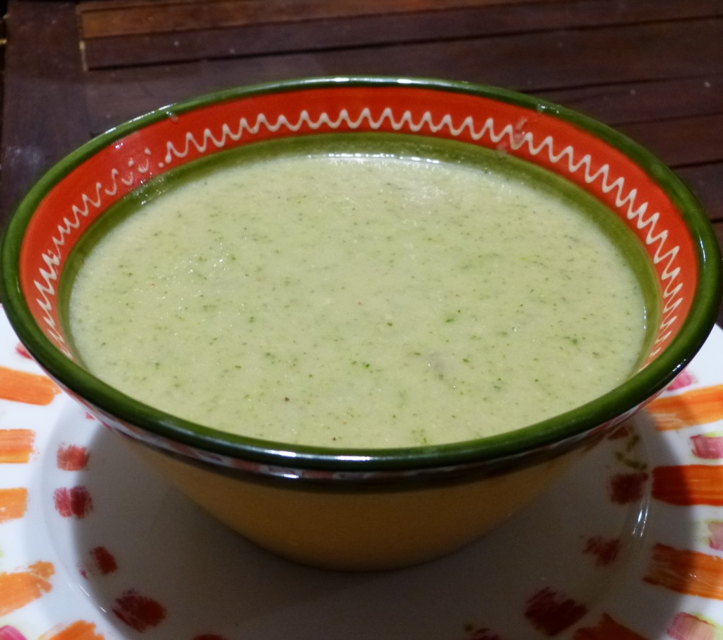 soupe courgette recette fourme ambert