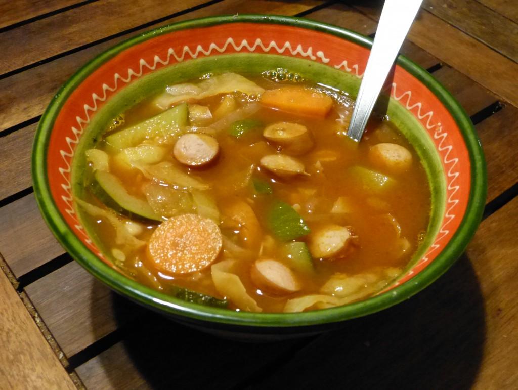soupe paysanne recette