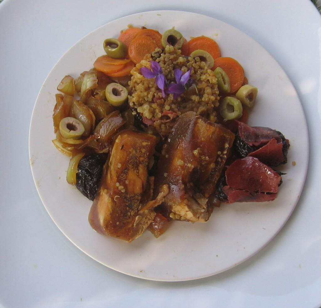 terrine lapin quinoa