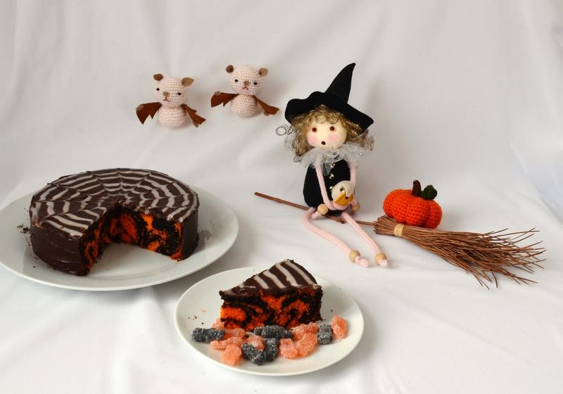 zebra cake halloween